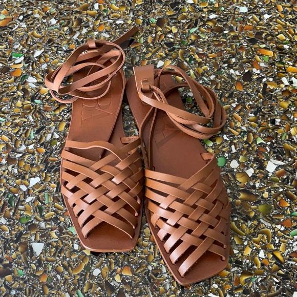 Huarache Style Gladiator Sandals